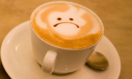 Image result for coffee sad